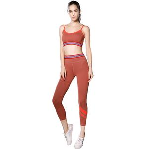 Female Sport Bra Suit Women Sport Wear 2 Piece Fitness Clothing Workout Yoga Wear Set
