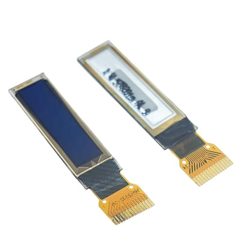Sistema inteligente <span class=keywords><strong>OLED</strong></span> Display LCD de 0.87 <span class=keywords><strong>polegadas</strong></span> 128*32 Flexível Transparente