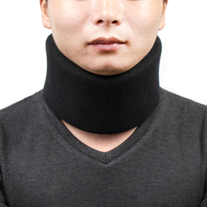 Adjustable medical tension reliever brace neck support cervical collar for neck pain