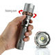 Flashlight Tactical XML-T6 High Power LED Flashlight 5 Modes Zoomable Camping Troch Flashlight 18650 AAA Battery