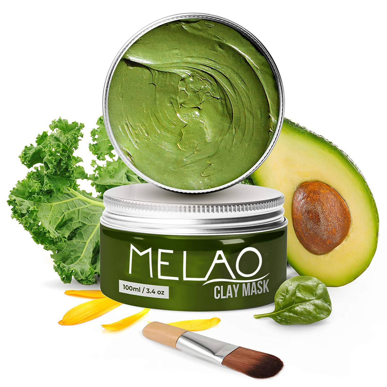 Private Label Collageen & Avocado <span class=keywords><strong>Zwart</strong></span> Extract Mud Facial Modder <span class=keywords><strong>Masker</strong></span> Met Dode Zee Mineralen Oem Odm