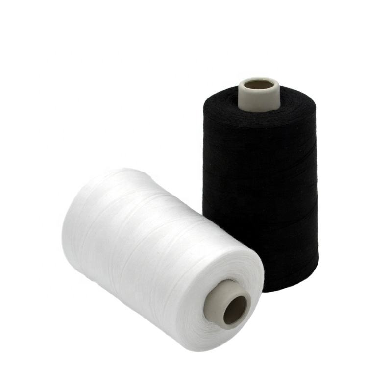 Factory Wholesale Cheap High Tenacity 100% Spun Polyester Sewing Thread Hilos De Algodon