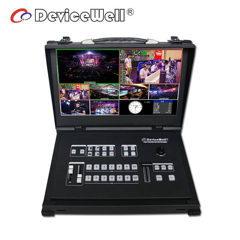 Devicewell HDS9106 Professional Broadcasting Equipments For Video Mixer Switcher