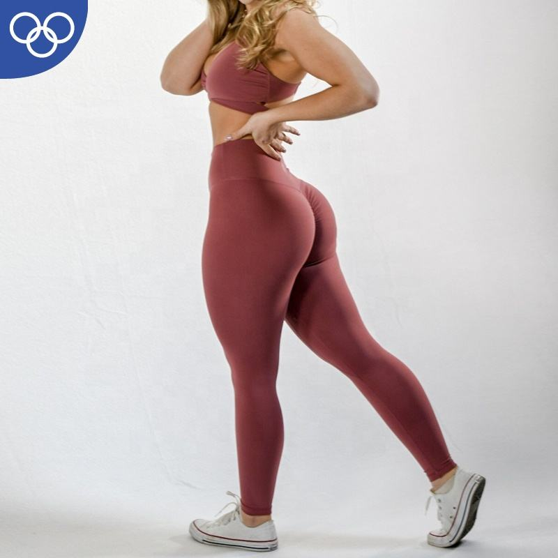 US Popular Style yoga Wear Patchwork Fitness Workout Sports High Waist Legging For Women