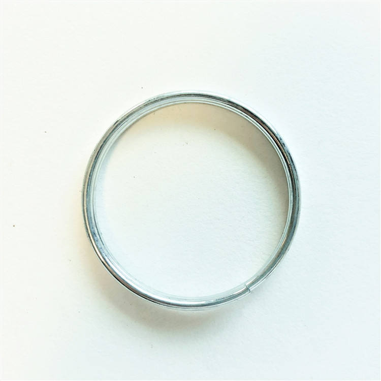 Key Rings Findings Superior Quality 13mm Brass plated Steel Split Rings