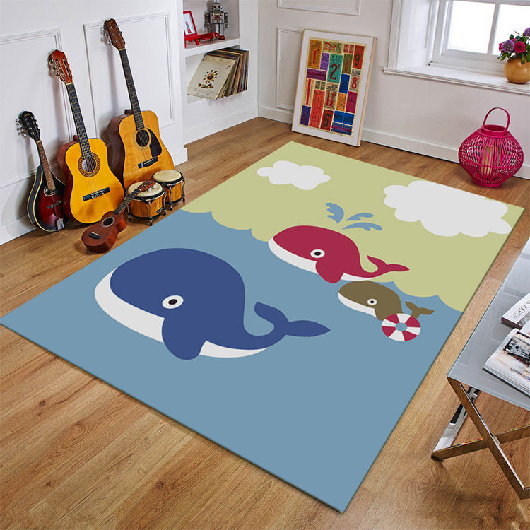 A Variety Of Popular Cartoon Carpet Styles For Your Choice Of Children's Carpet Round Carpet