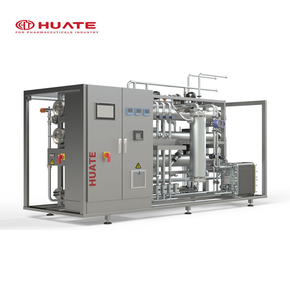 GMP FDA 3000L/H Purified Water System For IV Solution /Purification Water System/RO System