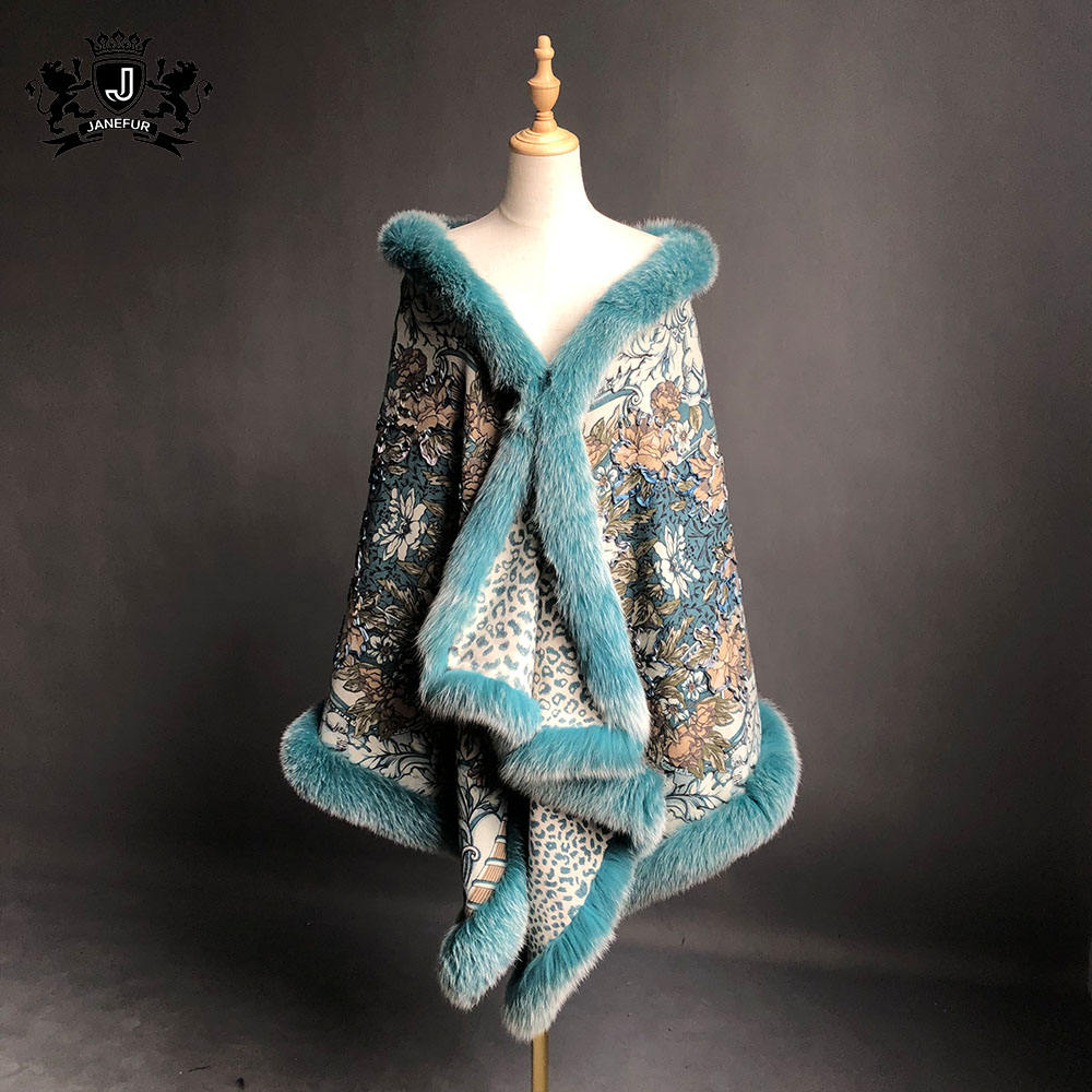 2019 Elegant Factory Direct Real Cashmere Shawl And Scarf Scarf Shawl with Real Silk
