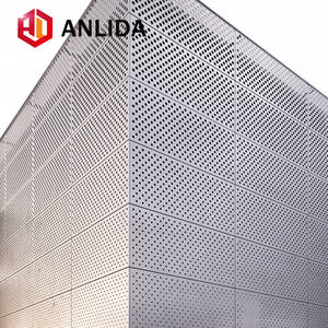 0.5mm 0.8mm thin galvanized steel sheets perforated metal plate russian