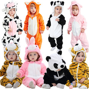 Michley Infant Meisjes Jongens Cosplay Kleding Winter Dier Pasgeboren Baby Rompertjes