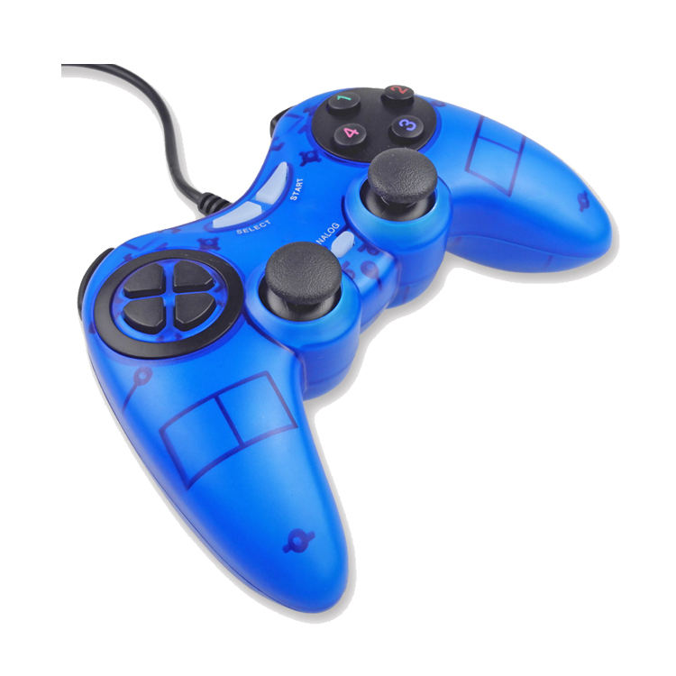 PC gamepad wired controller voor pc usb trillingen joypad joystick & game controller
