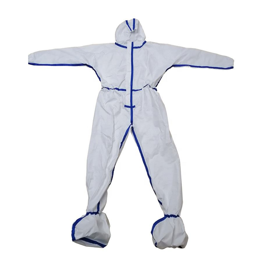 Medical Protection Disposable Isolation Coverall Clothing Isolate the virus