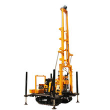 Geological exploration crawler diamond core sample drilling rig for sale