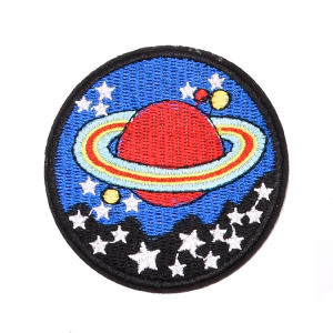 Applique Embroidery Custom Cheap Woven Design Iron On Sequin Beaded Iron-On Golf Patch