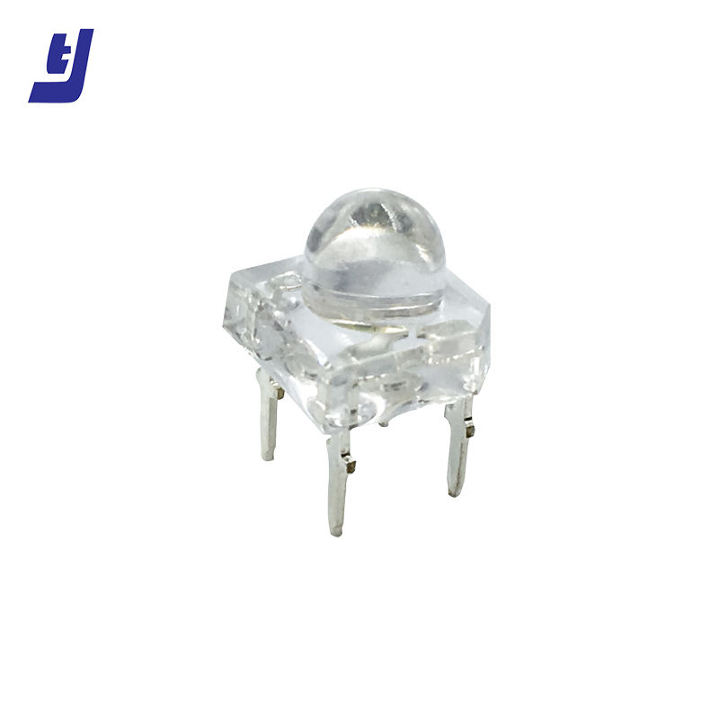China supplier high quality polished mini chip 4 pins super flux led piranha