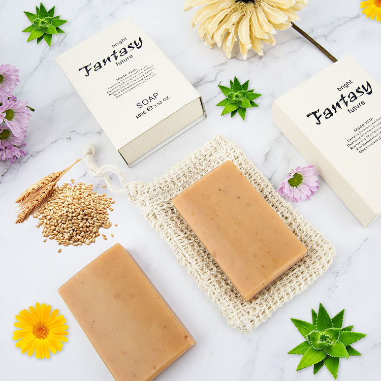 Luxury Private Label Perfume Plant Essential Oil Whitening Body Bath Toilet Soap