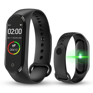 2019 NEW Health Fitness Tracker Watch M4 Smart Bracelet with Heart Rate Monitor Calories Call Reminder