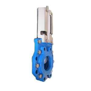 Alibaba supplier hand wheel operated knife gate valve PN10/16/150LB/4