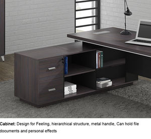 Factory Wholesale foshan luxury modern office furniture wooden executive office table desk design