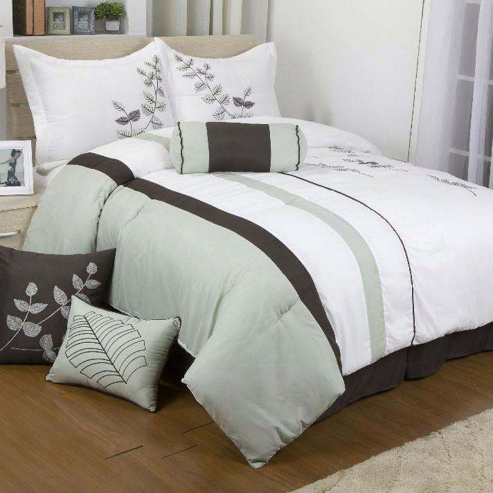 colorful Embroidery Bed Comforter Sets Cheap Price