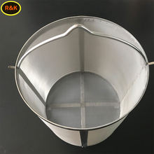 300 micron 304 stainless steel filter brew mesh bucket
