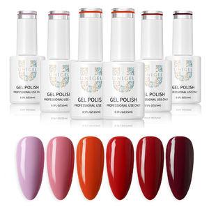 OEM/ODM Private label Free Sample Gel Nail Polish High Quality High Adhesion Long Lasting Nail Gel Polish UV GEL