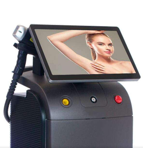 20% discount professional beauty IPl laser Alma soprano ice platinum Titanium hair removal machine 755 808 1064nm diode laser