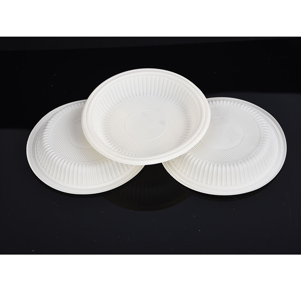 Biodegradable Tableware Throw Away Party Plates Luxury Disposable Plastic Plates