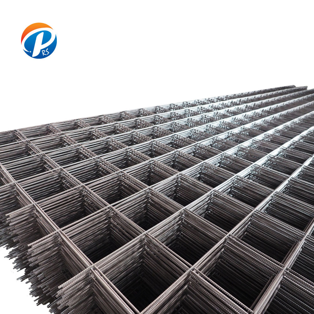 BS standard reinforcing steel wire mesh/ Concrete Reinforced steel bar welded mesh/ building foundation netting