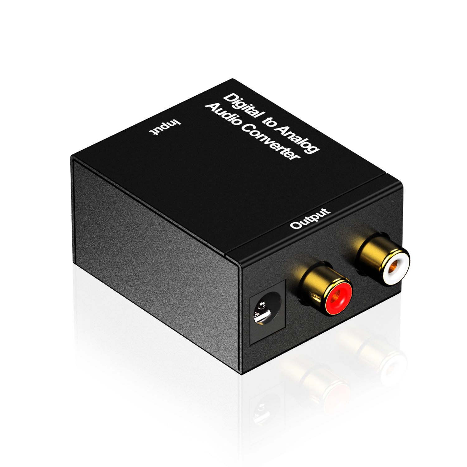 Hot Selling New Arrival 3.5MM Optical Coaxial Digital to Analog Audio Converter DAC Digital Toslink to Analog Stereo L/R Adapter