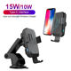 Charger Fast Phone Iphone Wireless Automatic Car Phone Charger Automatic Clamping Gravity Qi Wireless Car Charger Mount 15W Fast Charging Phone Holder Smart Sensor Charger For Samsung IPhone