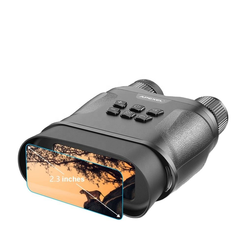 Digital Night Vision Binoculars for Complete Darkness - Take Photos & Videos - Infrared Scope for Spotting & Surveillance