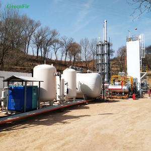 Small size LNG plant skid mounted liquefied natural gas equipment with high efficiency low power consumption good price