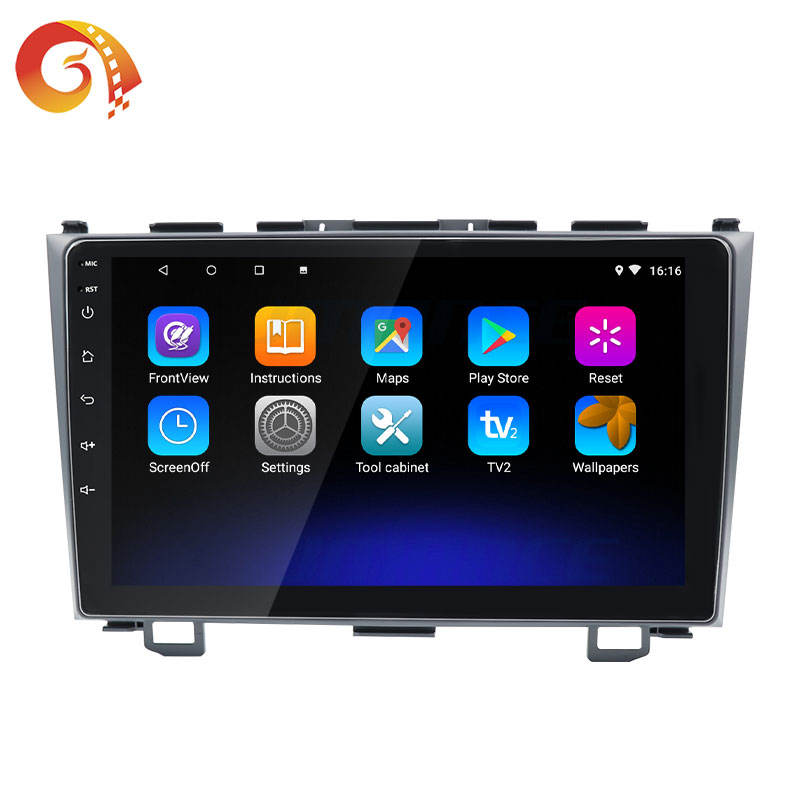 Touch Screen Headunit Dvd Tv Gps Android Head Unit Car Stereo For Honda Crv 3 2007- 2011 With Bluetooth