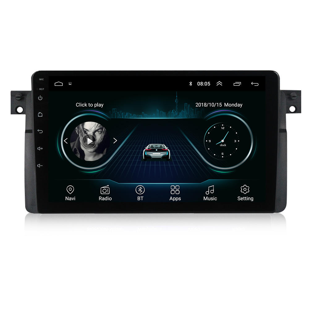 Navitree Android 4core Car Audio For BMW 3 Series M3 E46 316i 318i navigator 1+16GB android car multimedia system