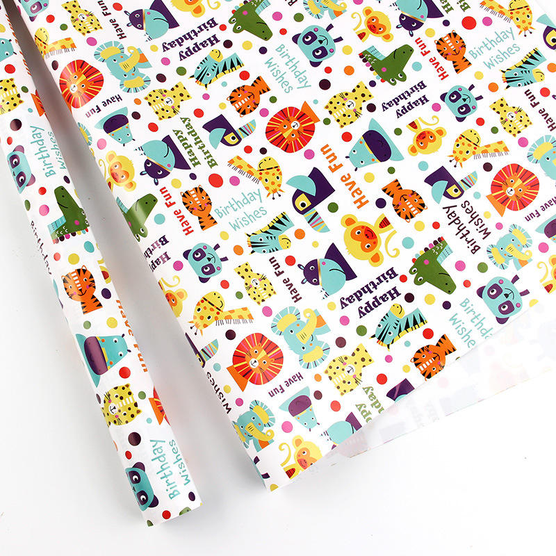 Custom Printed Logo Gift Wrapping Paper, Packaging Paper