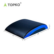 TOPKO amazon hot sale 2019 abdominal trainer core muscle exercise sit up pad ab mat