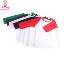 Custom fancy child 3/4 raglan sleeve t shirt kids cotton t-shirt wholesale
