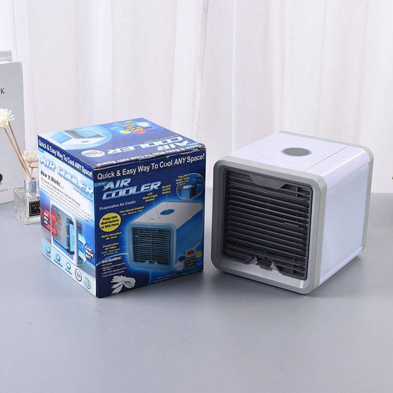 Portable Ac Air Conditioner With 7 Colors LED Lights Mini Air Conditioner Cooling Cooler For Home Use