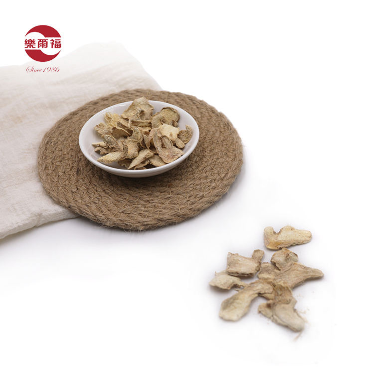Chinese natural dried ginger slices flakes dry ginger chips
