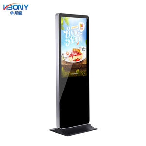 Harga Grosir 43 Inch Stand PC All In One Touch Screen Android Windows Digital Informasi Elektronik Interaktif Kios