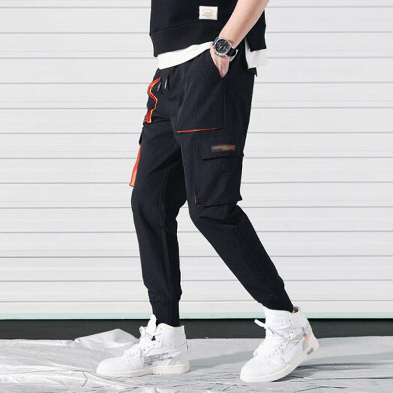 Men's fashion summer trousers are cheap, good quality, can be customized to produce any style