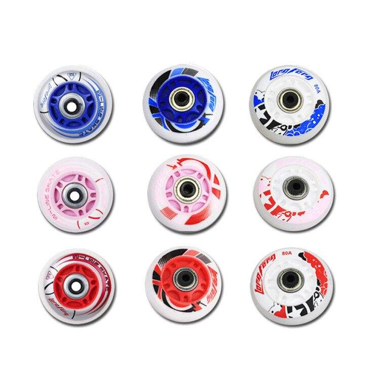 2020 Manufactory New Cool Inline Roller PU Material Roller Skates Wheels