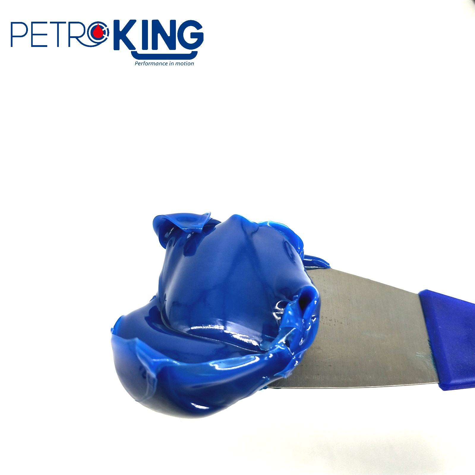 PETROKING Industrial Use High Temperature 320 Degree Lithium Complex Blue Grease