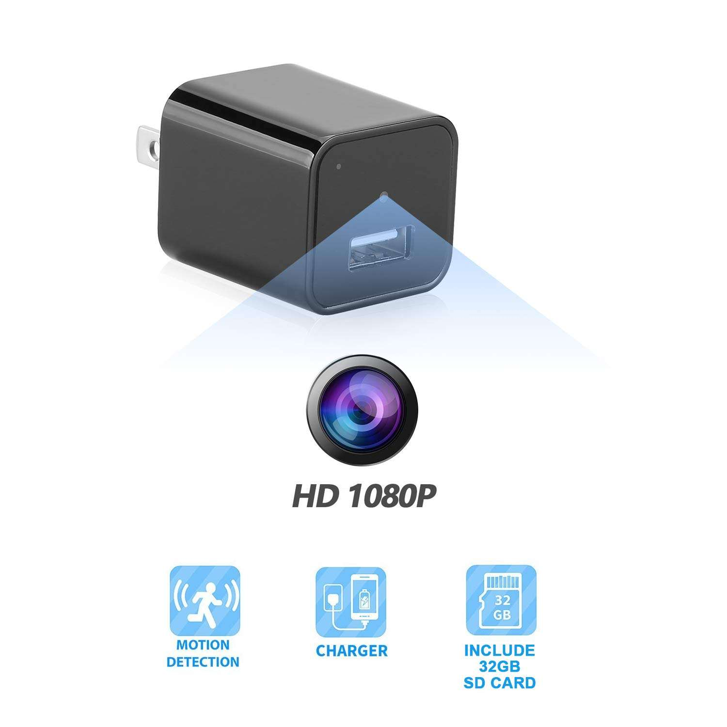 1080p USB Charger Mini Cheap Video Hidden Camera Sale cctv Price Wall Socket Small Hidden Cameras Buy for Homes Sale with Sound
