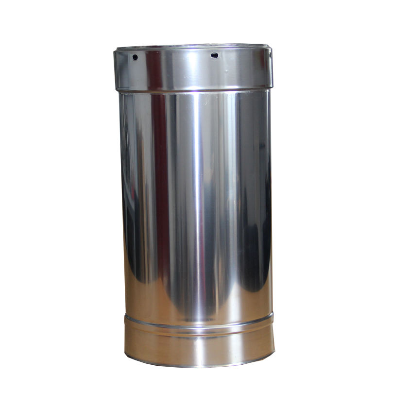 CE double wall insulated stainless steel flue pipe stove pipe for wood burning stove fireplace