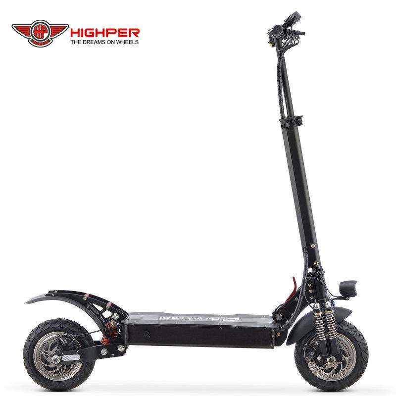 Highper most fashionable 2000W 48V 10 inch electric scooter for adults(HP-I44)