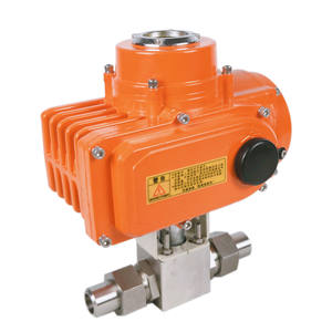 dc motor 24v electric actuator valve High pressure ball valve electric actuator price