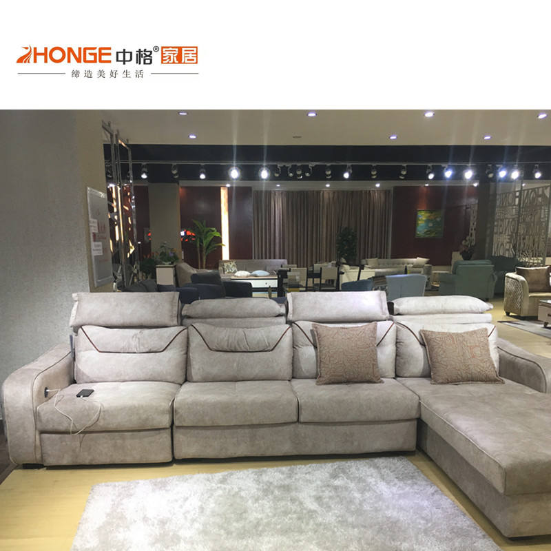 China sofa furniture manufacturer living room wholesale priced export fashionable modern corner sofa
