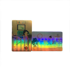 High Quality Custom Holographic Photo Card